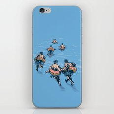 Cops Day Off iPhone Skin