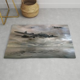 B-17 Flying Fortress - Almost Home Rug