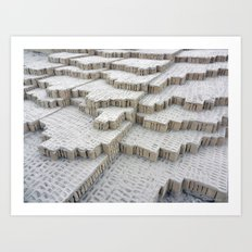 Pyramid in Lima Art Print