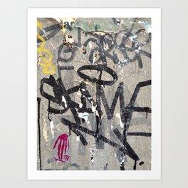 Paris Background 2 Art Print
