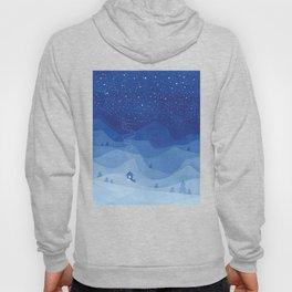 Stars factory, blue Hoody