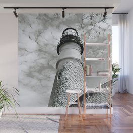 Lighthouse in Maine Wall Mural