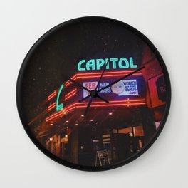 Vintage Movie Theater Wall Clock