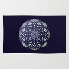 Wedgewood Sphere Mandala Rug