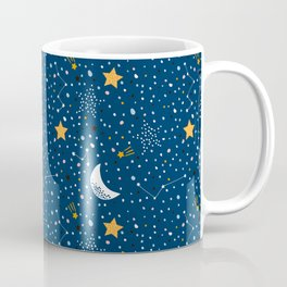 night stars Prints patterns Coffee Mug