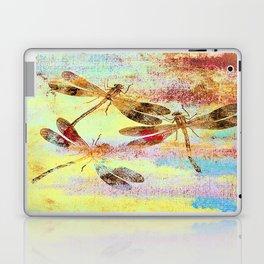 Mauritius Vintage Dragonflies Colours S Laptop & iPad Skin