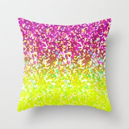 Glitter Graphic G224 Throw Pillow