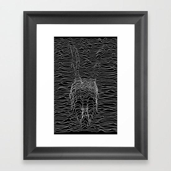 Frank Division Framed Art Print
