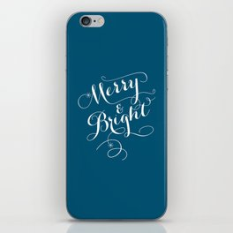 Merry & Bright iPhone Skin