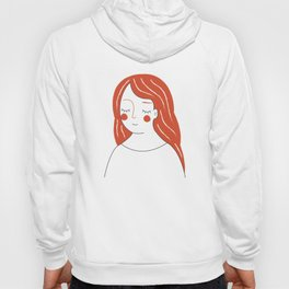 Red Haired Woman Hoody