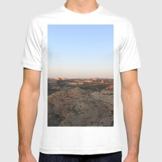 The West White Mens Fitted Tee MEDIUM