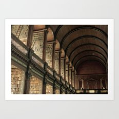 Long Room - Trinity College Dublin Art Print