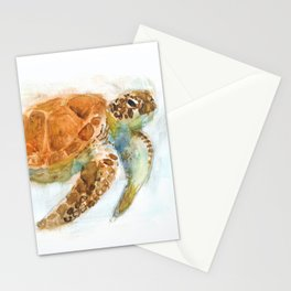 Watercolour Turtle Stationery Cards