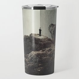 """""""Self-pity is... a sinkhole from which no rescuing hand can drag you because you have chosen to sink Travel Mug"""