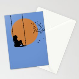 Dreaming like a child Stationery Cards