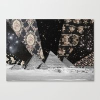 egypt Canvas Prints featuring Egypt by Mrs Araneae