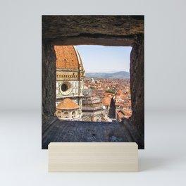 Stone View - Florence Cathedral - Cattedrale di Santa Maria del Fiore Mini Art Print