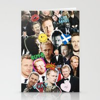 kevin russ Stationery Cards featuring Kevin McKidd by drmedusagrey