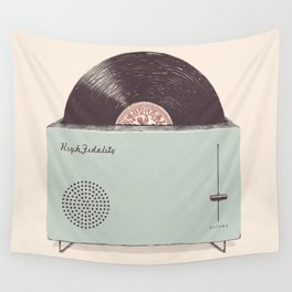 High Fidelity Toaster Wall Tapestry