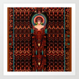 METROPOLIS-AGE OF MACHINES Art Print