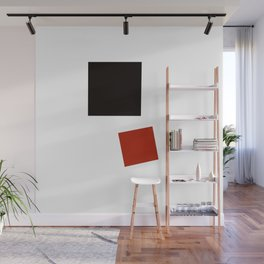 Geometric Abstract Malevic #2 Wall Mural
