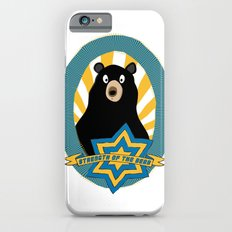 Strength of the bear! iPhone 6s Slim Case