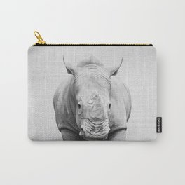 Rhino 2 - Black & White Carry-All Pouch