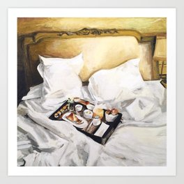 Breakfast in Bed, No. 1 Art Print