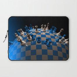 chess fantasy blue Laptop Sleeve