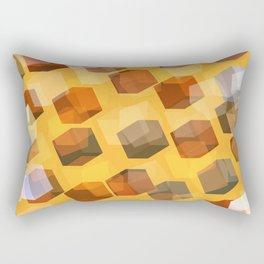 transparent cubes Rectangular Pillow