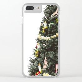 Christmas tree #society6 #decor #buyart Clear iPhone Case
