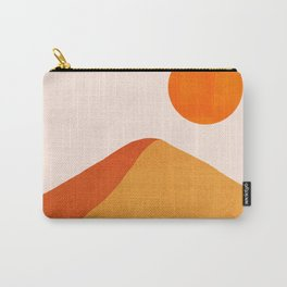 Abstraction_Mountains_SUN_Minimalism_01 Carry-All Pouch