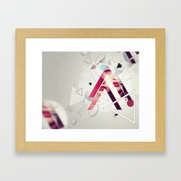 A Mess By Someone Before Framed Art Print