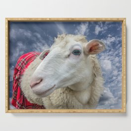 Beautiful sheep Serving Tray