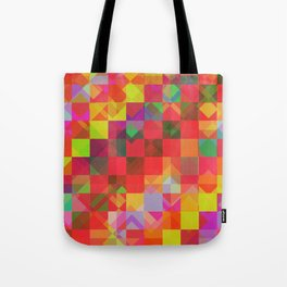 Don't be a square / Pattern Tote Bag