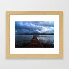 Lake Quinault Framed Art Print