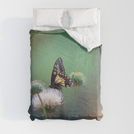 Butterfly Thistle Comforters