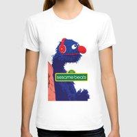 sesame street T-shirts featuring Sesame Beats by BeGraphics