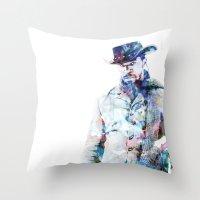 django Throw Pillows featuring Django by NKlein Design