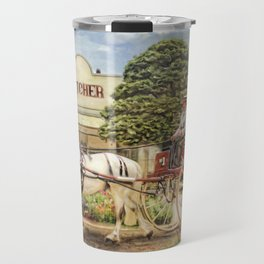 The Butchers Delivery Cart Travel Mug