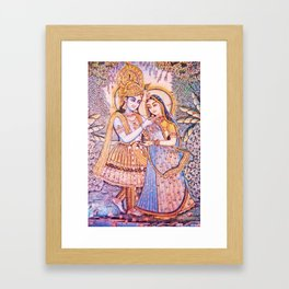 Hare Krishna Love Framed Art Print