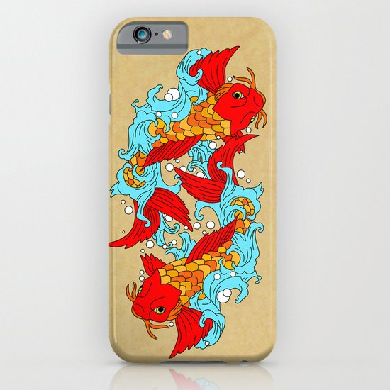 gold fish iPhone & iPod Case