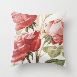 Vintage Botanical No. 4 Throw Pillow