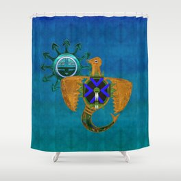 Of Sky Native American Shower Curtain