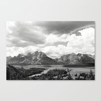 onward Canvas Prints featuring Onward by takemetomountains
