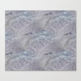 Bluestone Viola marble Canvas Print