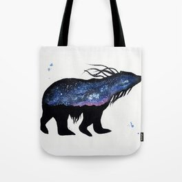 Milky Way Bear Tote Bag