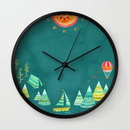 Not All Those Who Wander ii Wall Clock