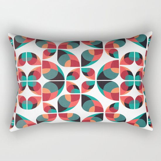 Fantasy Garden Pattern III Rectangular Pillow