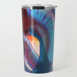 Blue Dancer Travel Mug